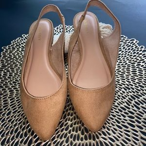 Old Navy Faux Suede Point Toe Flats